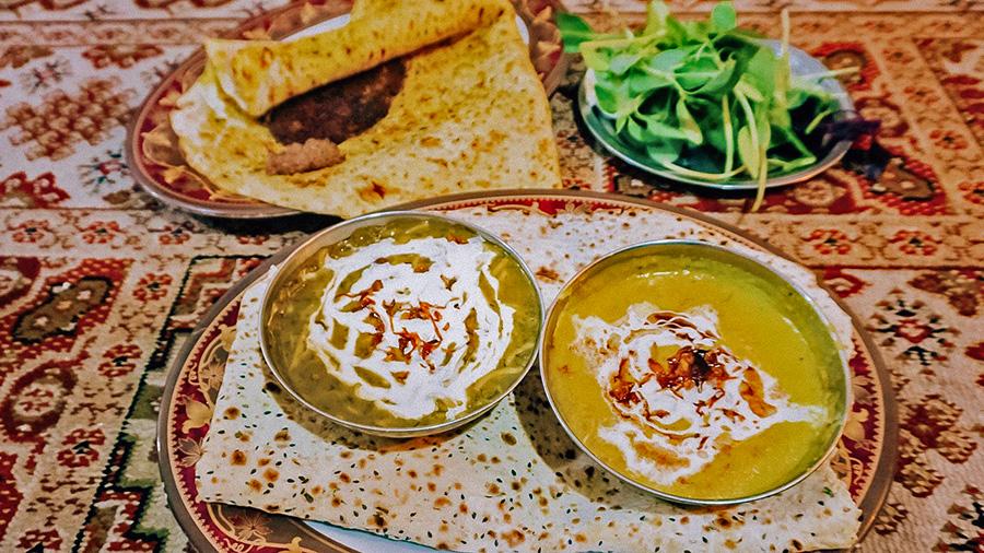 Iranian Ash Reshteh, Persian food