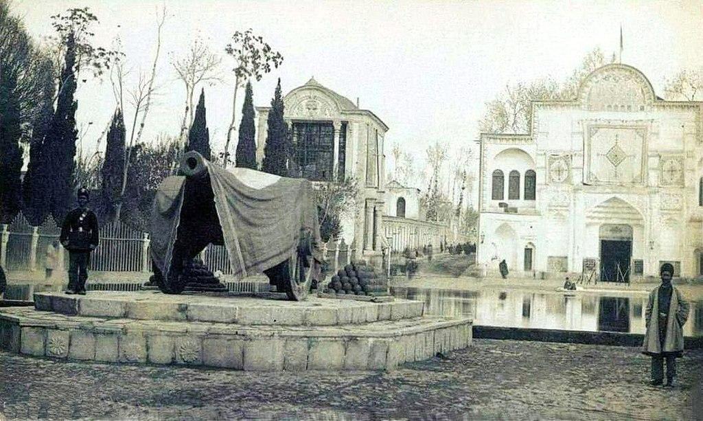 Morvarid cannon, the messenger of Nowruz for Tehran