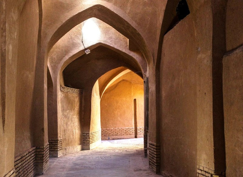 Yazd old town is a UNESCO listed world heritage