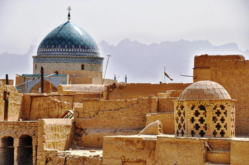 Yazd Earthen landscape, Iran