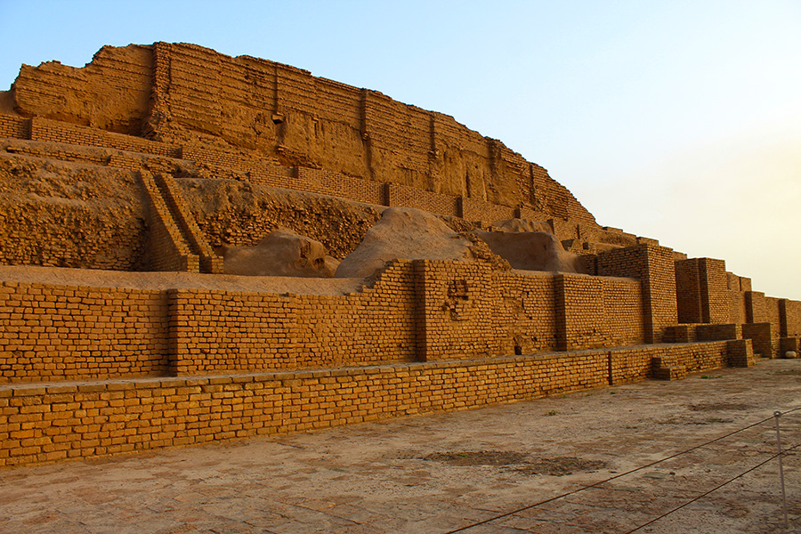Ziggurat Chogha Zanbil, the temple of Elamites