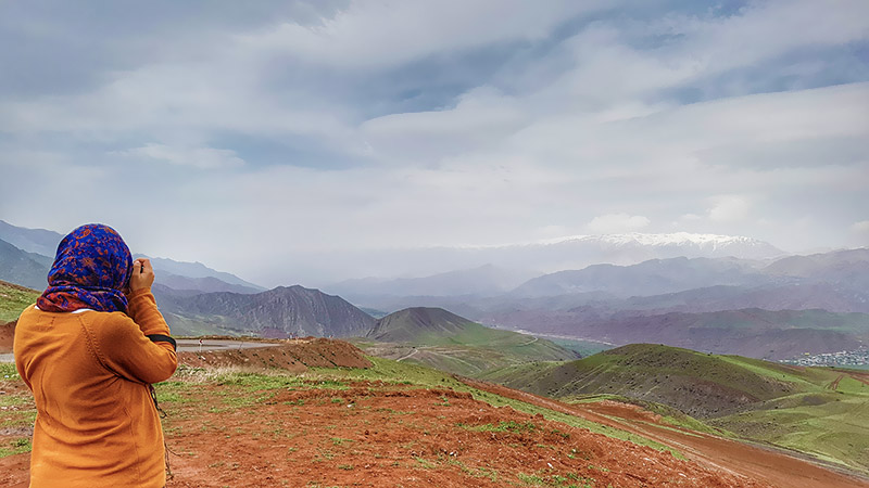 Alamut valley in Qazvin, Iran