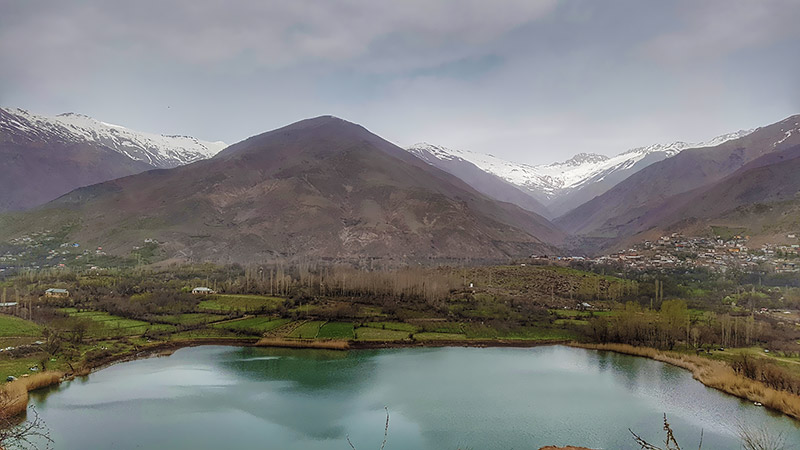 Ovan Lake in Alamut valley