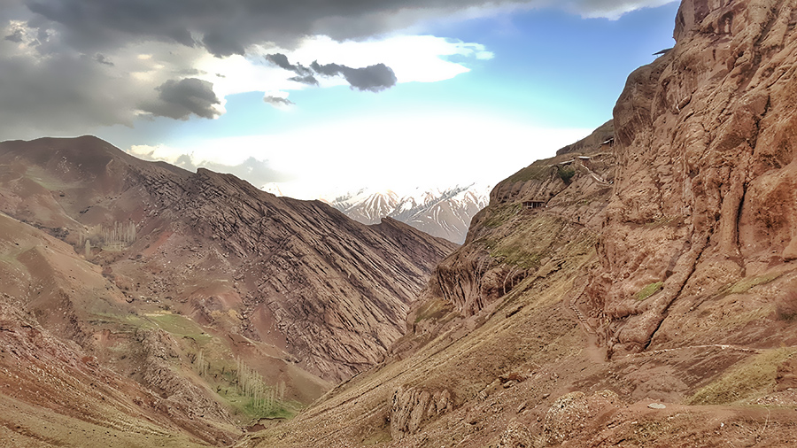 Alamut Valley of Iran