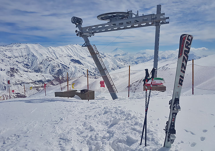 Iran ski resorts