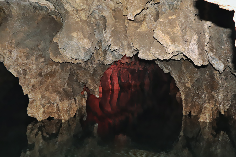 Ali-Sadr water cave of Iran