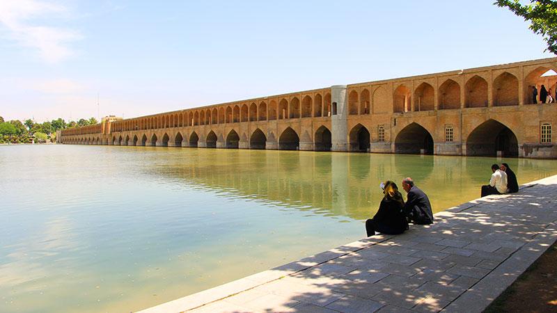 si o se pol bridge isfahan