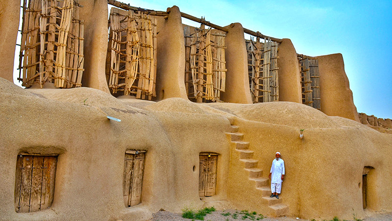 the ancient watermills in nashtifan iran