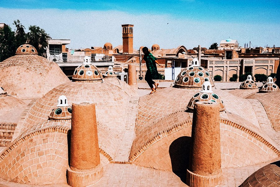 Mud-brick city of Yazd