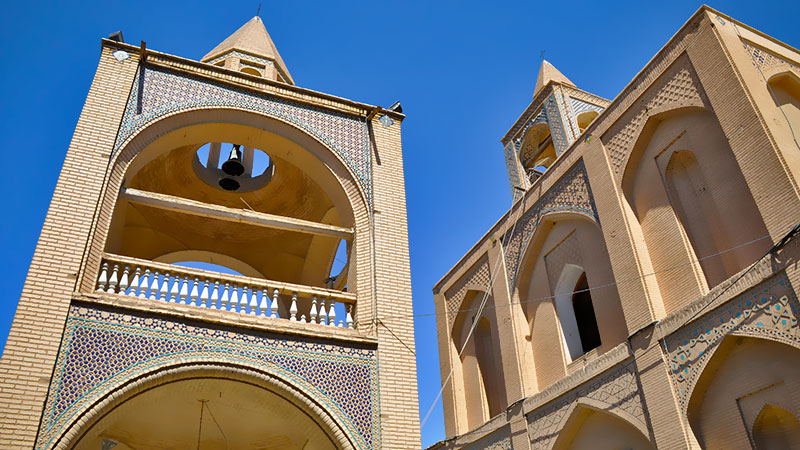 vank cathedral in new jolfa isfahan