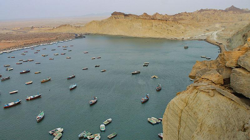 Beris rocky port near Chabahar