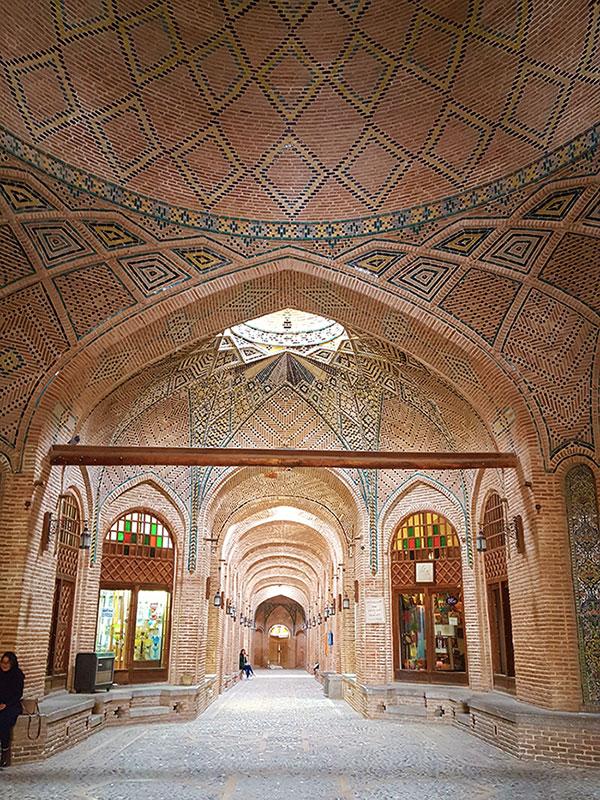 Sa'd Al Saltaneh Caravanserai in Qazvin