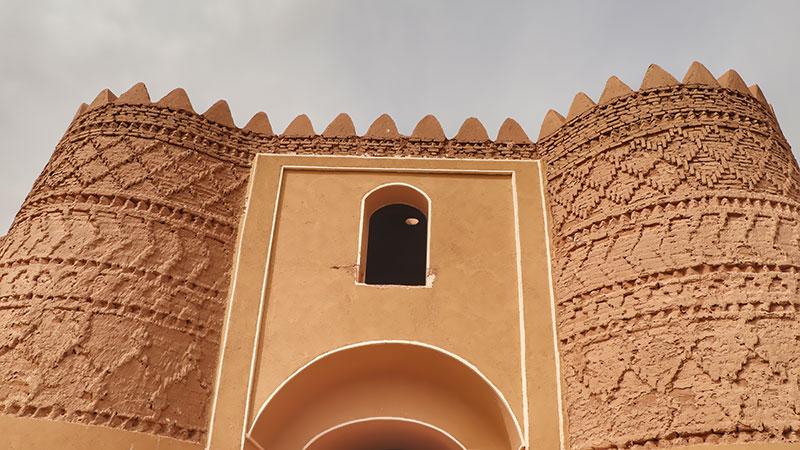 Shafi Abad Caravanserai near Lut desert