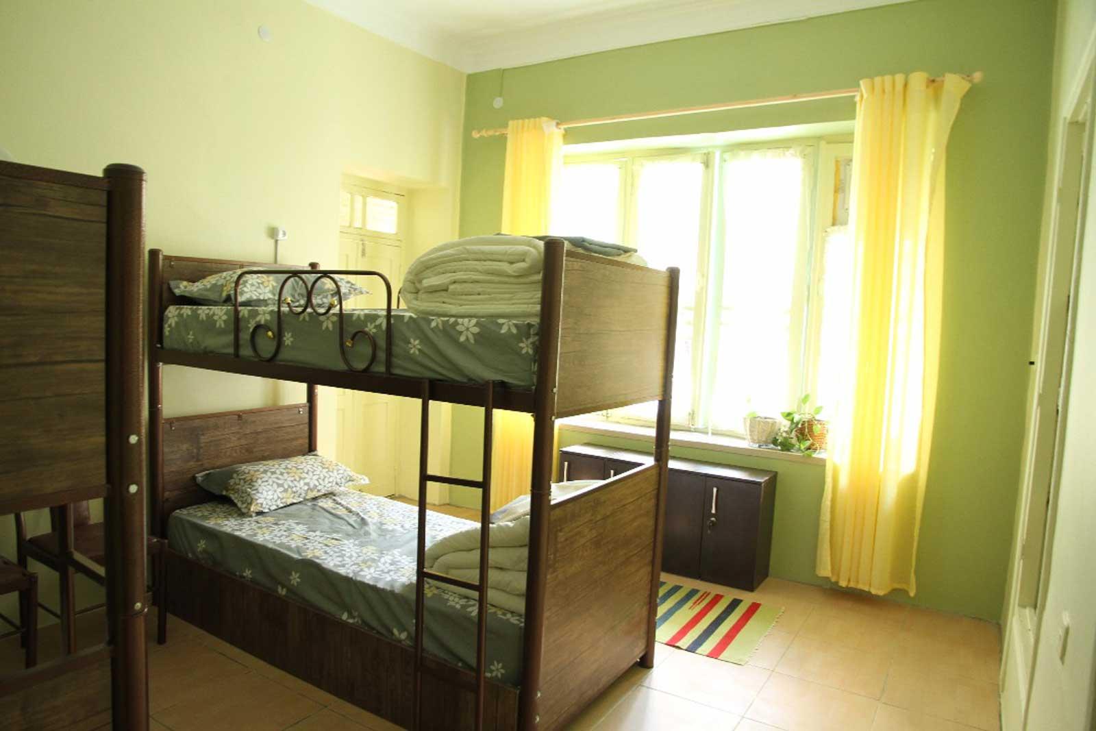 Cedar hostel dorm room