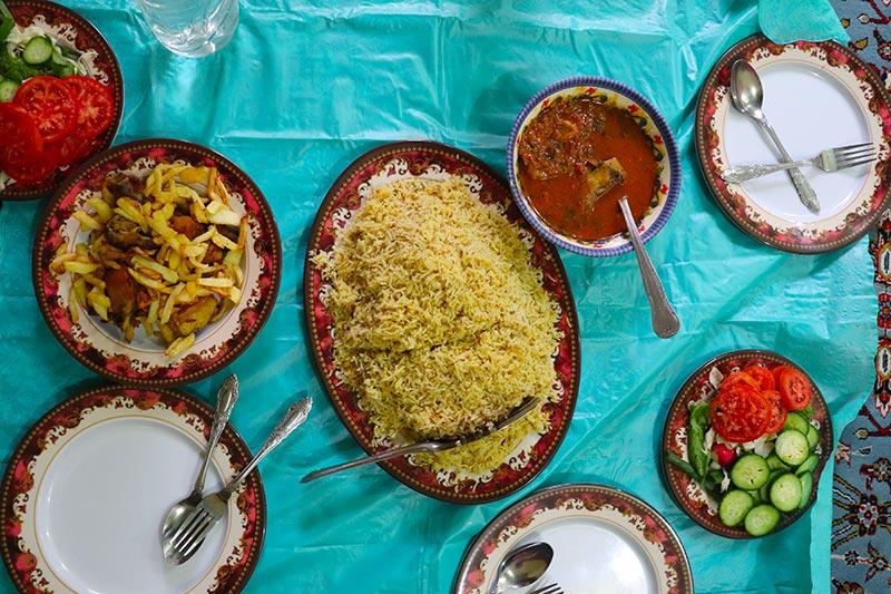 Iranian Balochi culinary