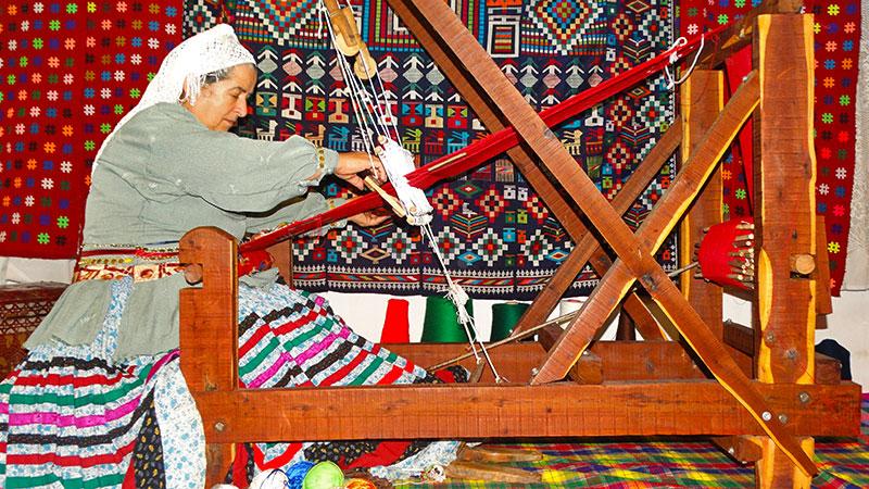 chadorshab loom in qasemabad gilan