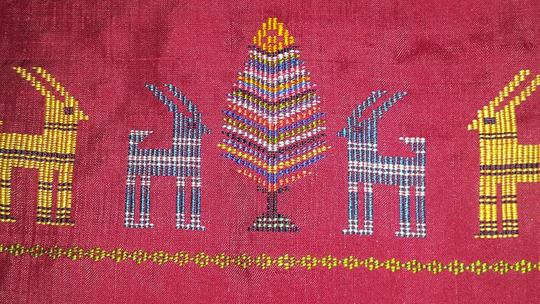 chadorshab weaving art of qasemabad village