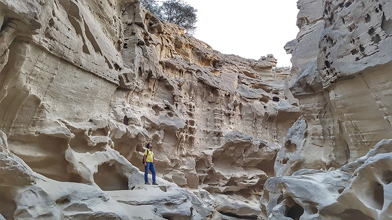 Chahkooh valley of Qeshm Geopark
