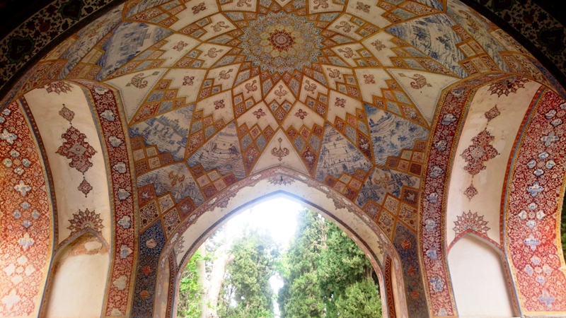 Fin garden, one of the UNESCO listed world heritages in Iran