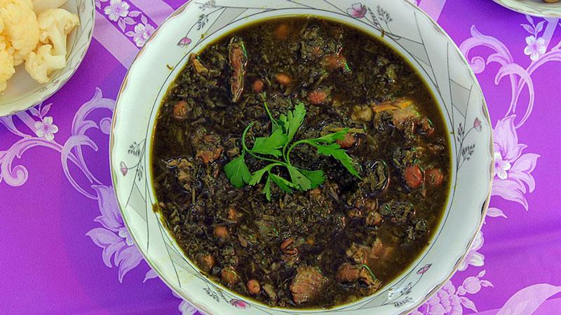 Ghormeh Sabzi (Green Herb Stew)