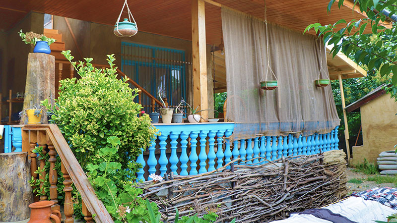 Gileboom ecolodge of Gilan