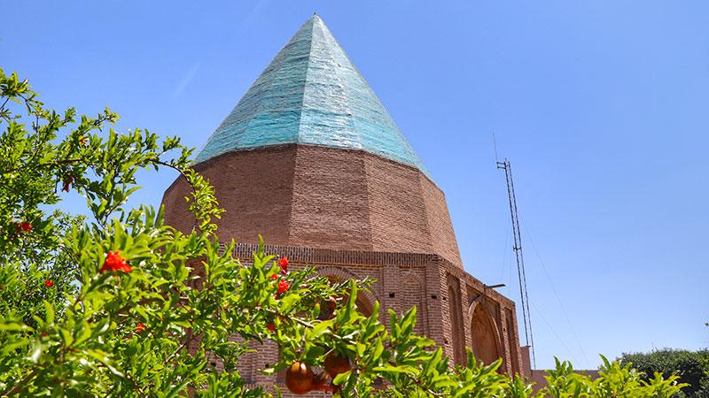 Qonbad Sabz Garden in Qom