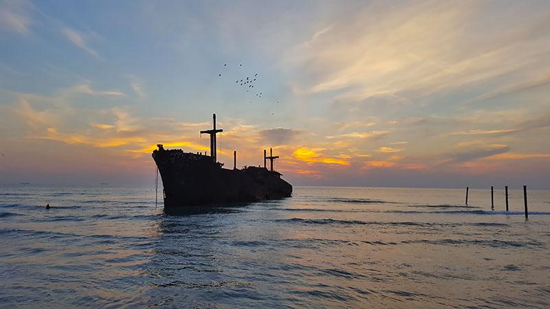 kish island in the Persian Gulf