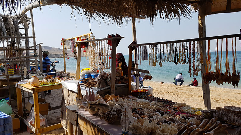 Hengam Island's local market, Qeshm, Persian Gulf