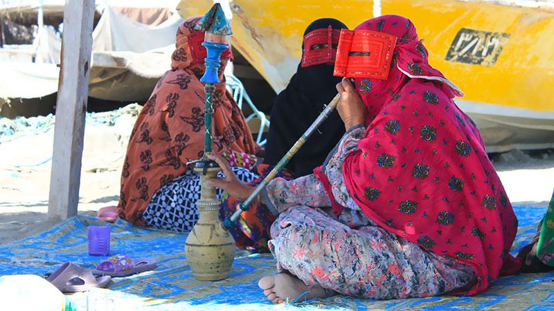 Hormuz Island women