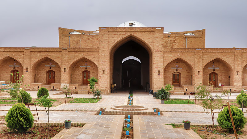 Caravanserai, the Miniature City of the World's First Explorers