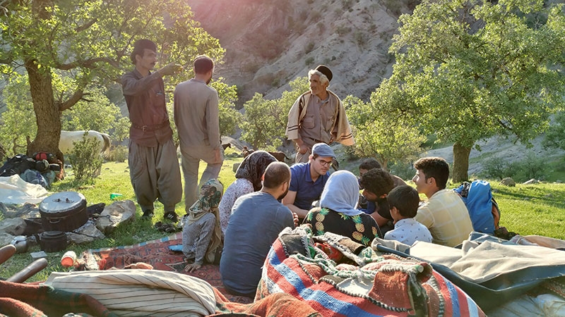 nomad tour in Iran zagros mountains