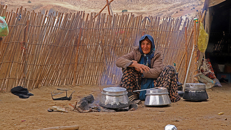 Live Some Days with Persian Nomads in Zagros Mountains