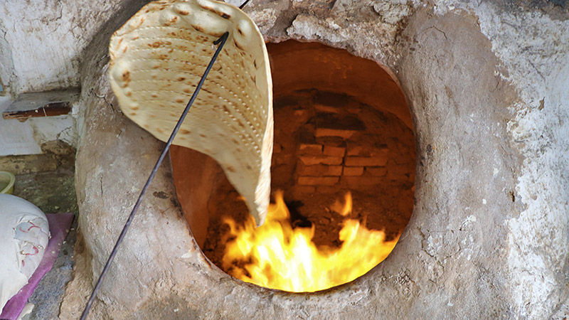 Traditional Iranian bread