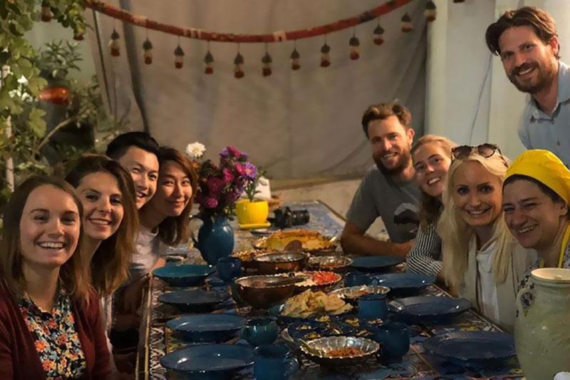 Esfahan cooking class