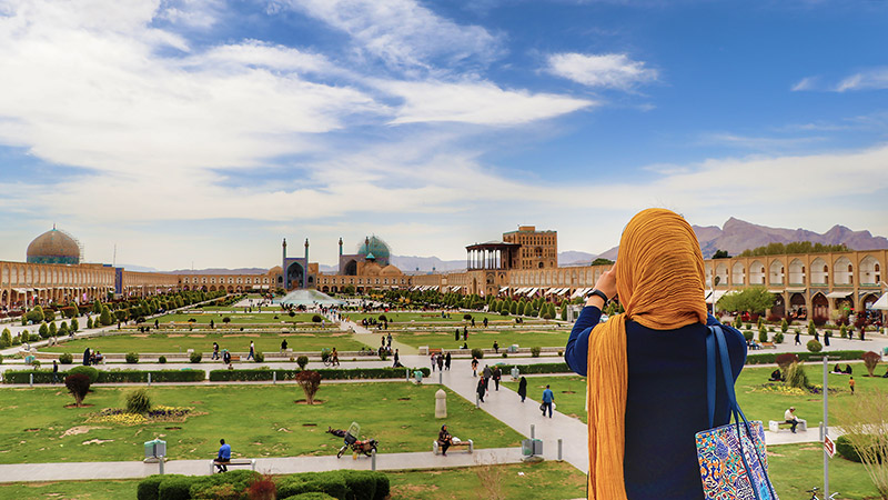 Isfahan, half of the world and Naghsh-e jahan square