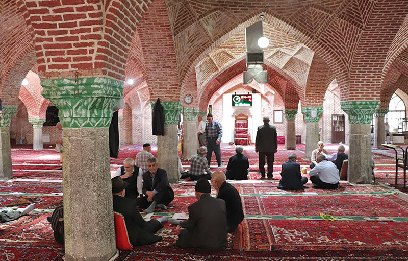 33 culumns mosque of Tabriz