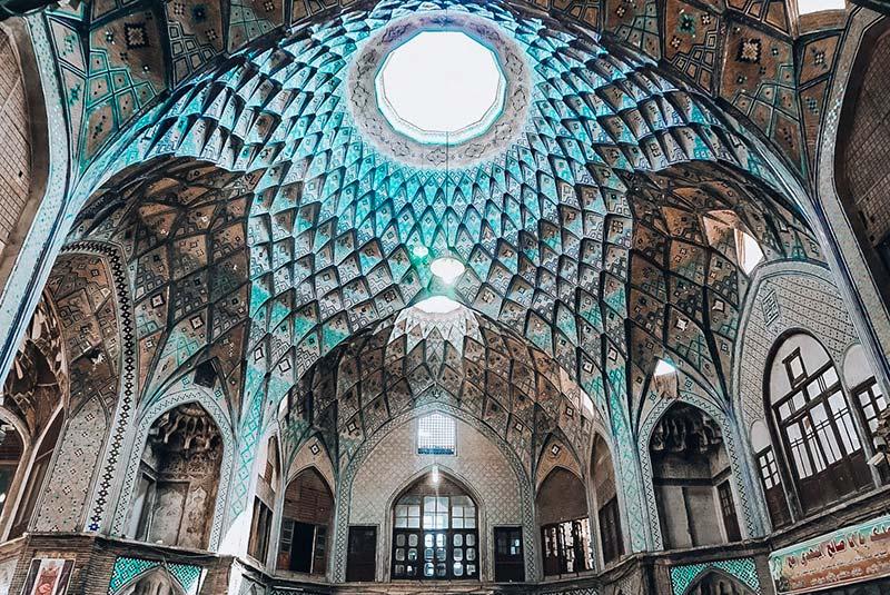 Kashan old bazaar