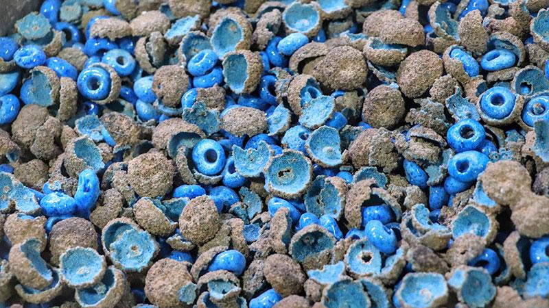 Kharmohre, the Persian blue pearl