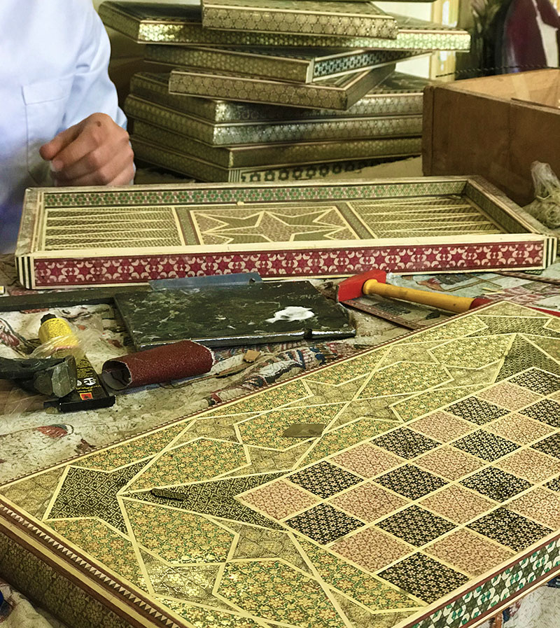 Shirazi Khatamkari (Inlay)