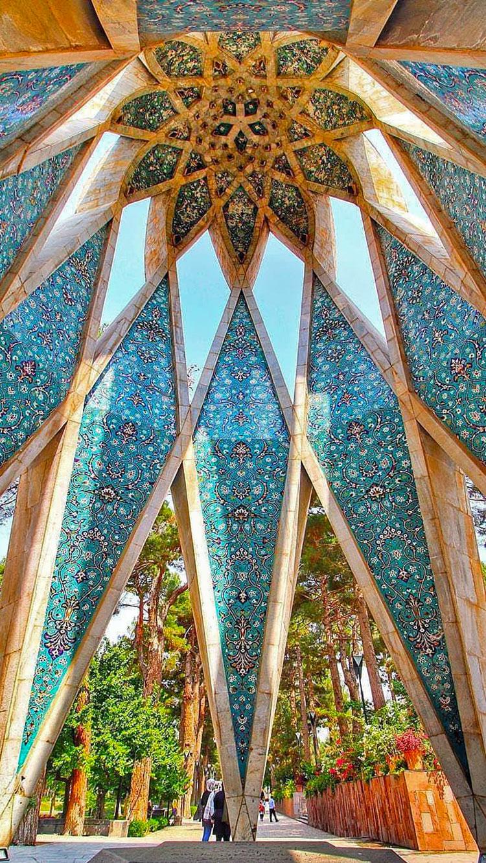 khayyam mausoleum in neishabur