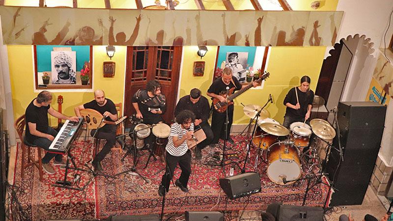 Kooche festival music in Bushehr