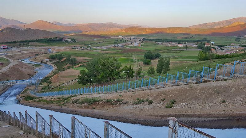 Koohrang spring in Chahrmahal and Bakhtiari province