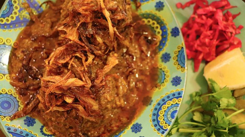 Kufte Tabrizi, iranian dish