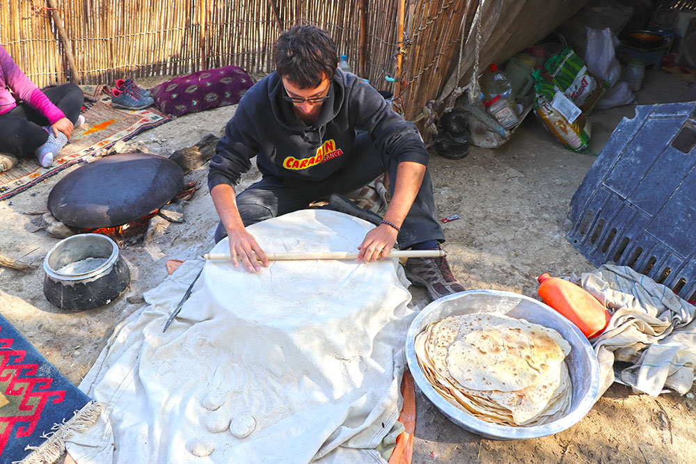 experience living with nomads of Zagros