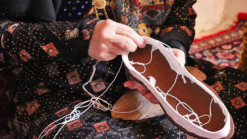 iranian klash footwear