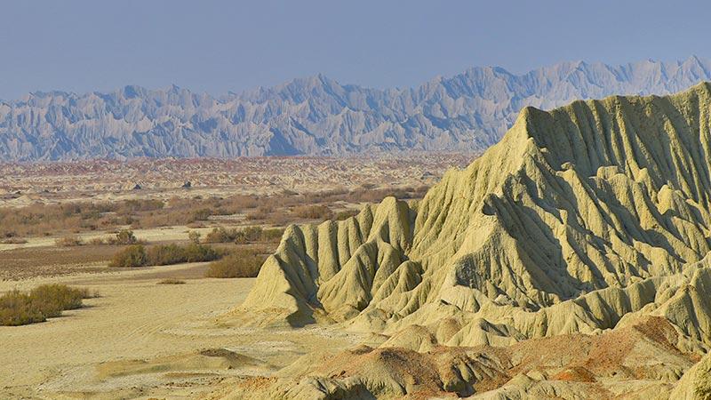 Martian Mountains of Iran Balochistan