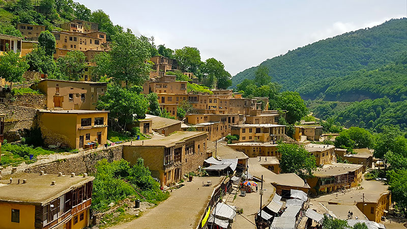 The scenic village of Masuleh