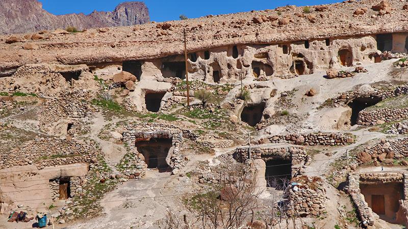 Maymand stone troglodyte village world heritage