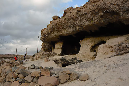 Meymand Village, each Cave-house of it, a Tunnel of Time