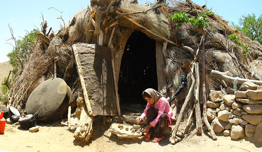 Maymand semi-nomadic lifestyle